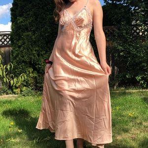 Christian Dior • Vintage Satin Slip Dress